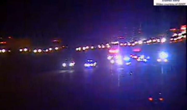 Crews working on fatal pedestrian accident on I-75