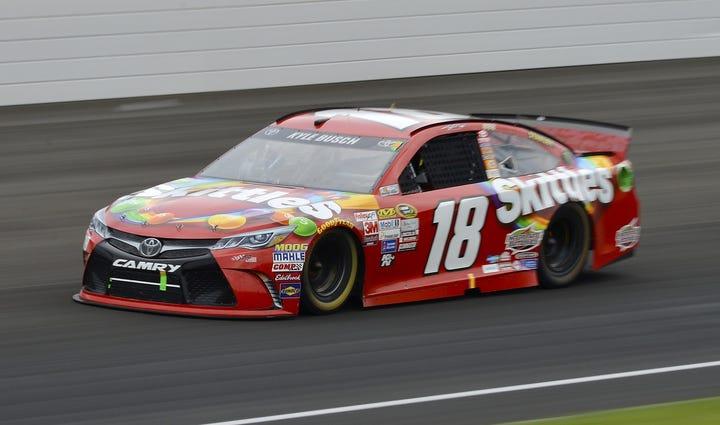 Jul 26, 2015; Indianapolis, IN, USA; NASCAR Sprint