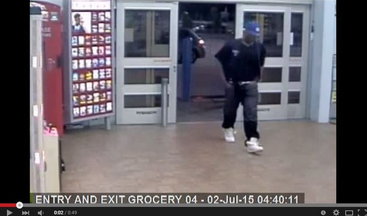 A man wearing the employee uniform robbed a Gentilly
