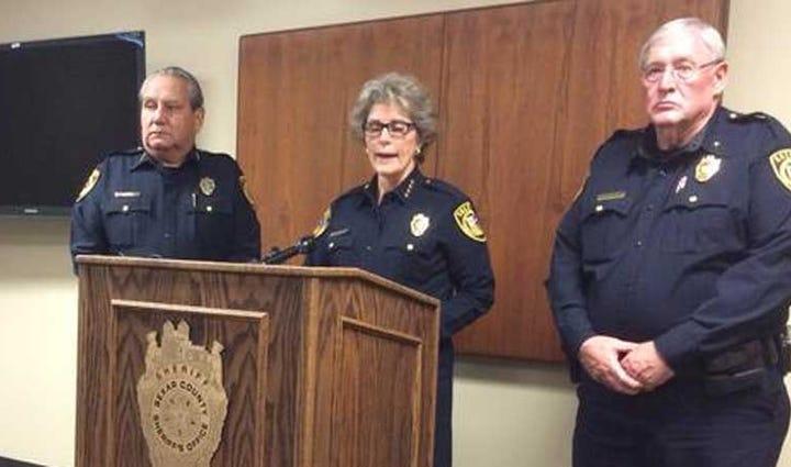 Bexar County Sheriff Susan Pamerleau addresses deputy-involved