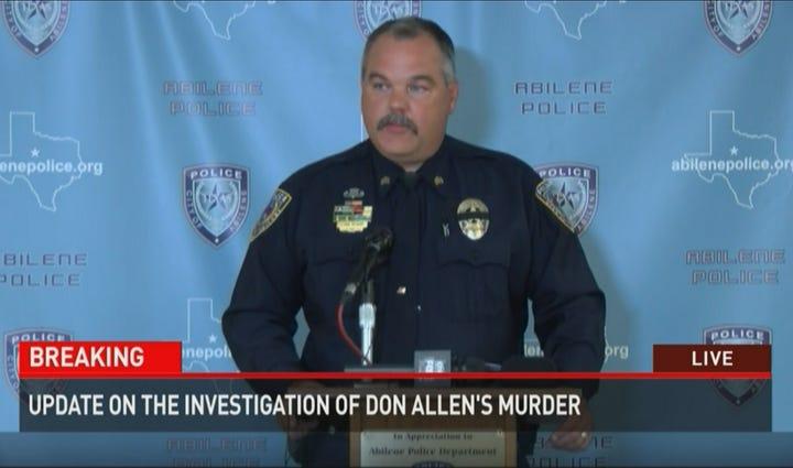 Abilene Police Sgt. Lynn Beard