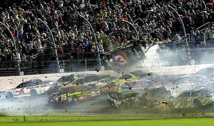 Austin Dillon Wreck At Daytona