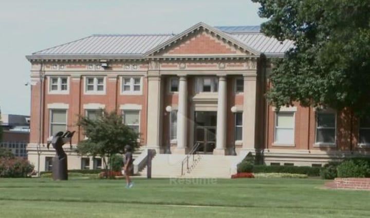 Building at Howard University