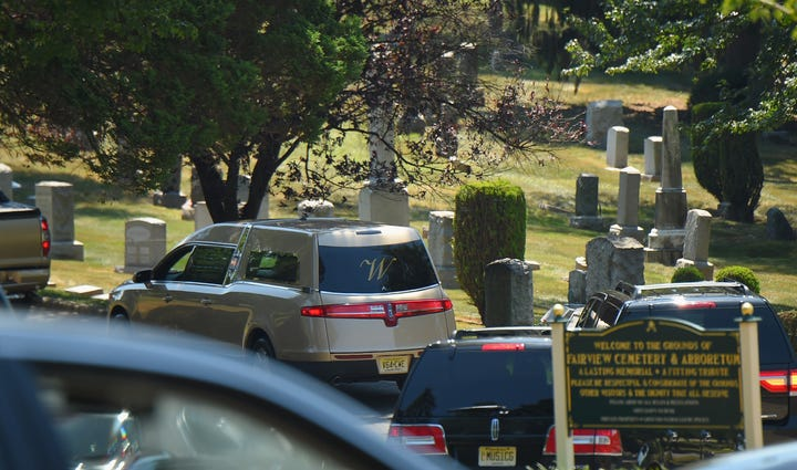 Funeral services for Bobbi Kristina Brown at the Fairview