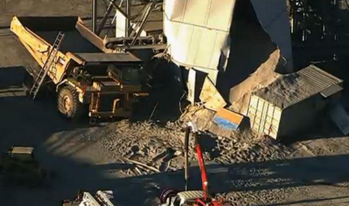 One person missing after silo collapses in Ashburn.