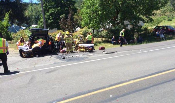 Wilson River Highway crash
