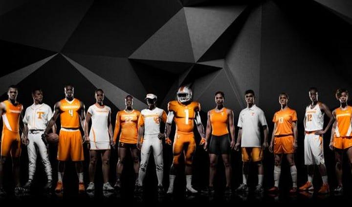 UT's new Nike uniforms
