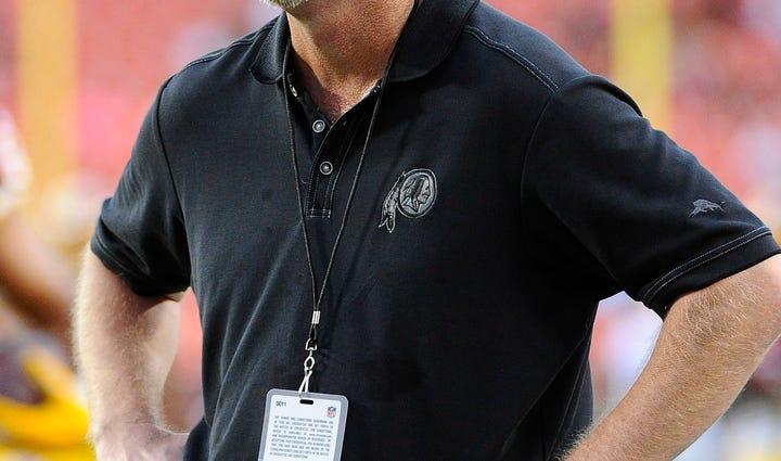 Aug 20, 2015; Landover, MD, USA; Washington Redskins