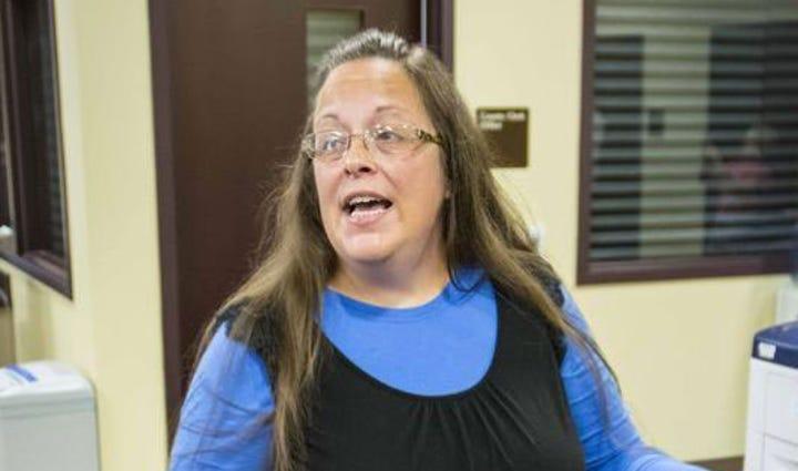 Rowan County Clerk Kim Davis claims she has acted on
