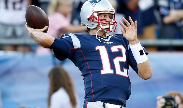 Aug 13, 2015; Foxborough, MA, USA; New England Patriots