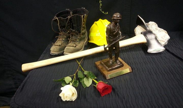 Memorial held for firefighters Richard Wheeler, Andrew