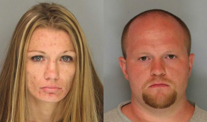 Heather Demonia and Thomas Broome were charged with
