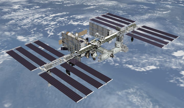The ISS will be visible over NE Ohio tonight.