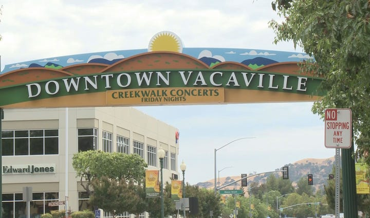 Vacaville was ranked as one of the top 10 cities in