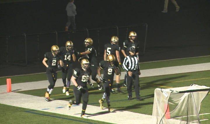East Ridge High School football team during the 2014
