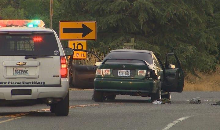 Two people were shot by a Pierce County sheriff's deputy