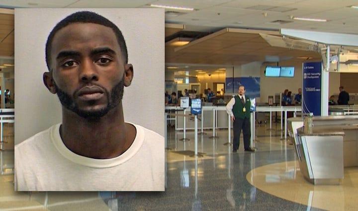 Damarias Cockerham, 25, was arrested after he eluded