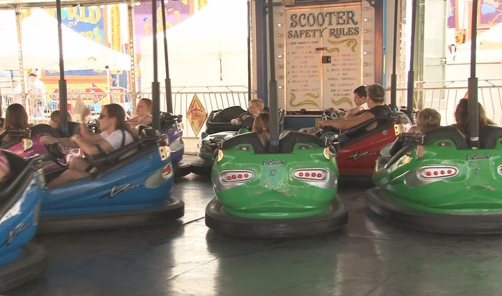The Bangor State Fair kicked off Friday afternoon,