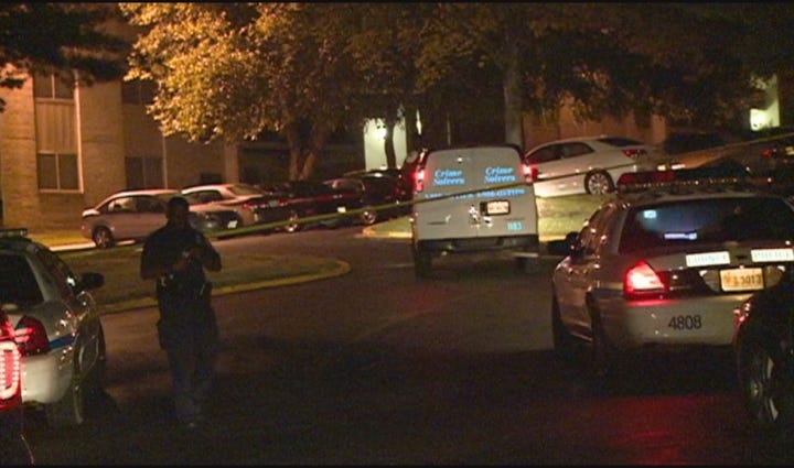 Police responded to the Harbor Place apartments on