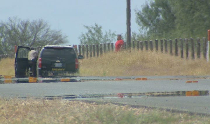 Standoff on IH-35 in Diley