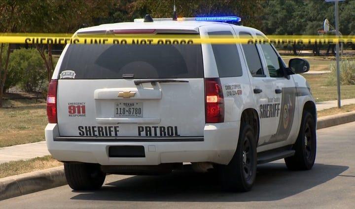 Sheriff's squad car