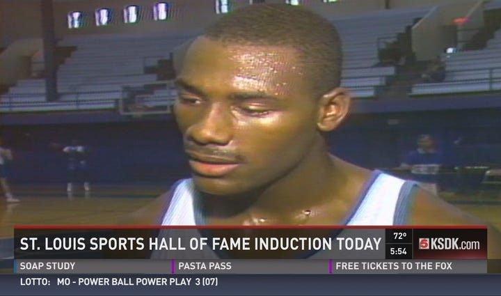 Tonight, the St. Louis Sports Hall of Fame will induct