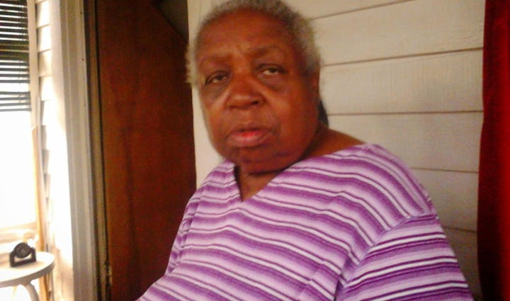 Mildred Martin was shot to death on a porch in northwest