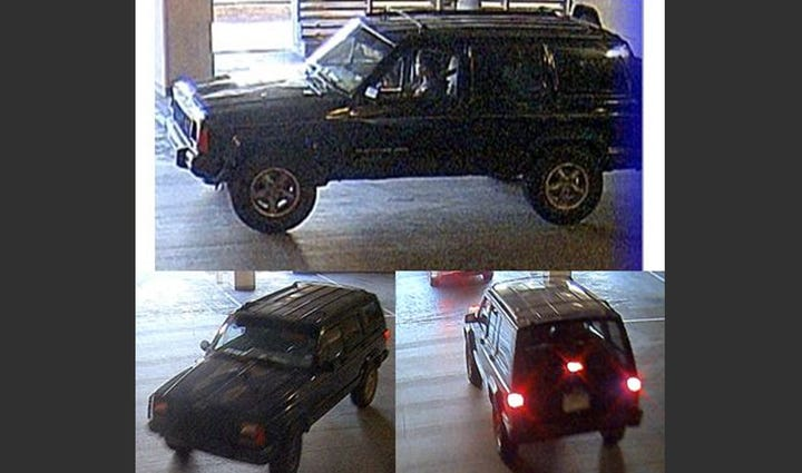 Police have released images of a Jeep Cherokee they've
