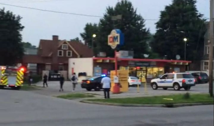 Shooting at W. 89th & Detroit