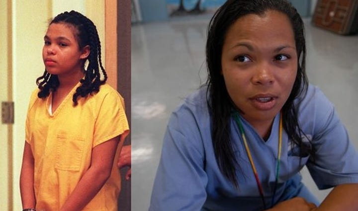 Catherine Jones Than and Now