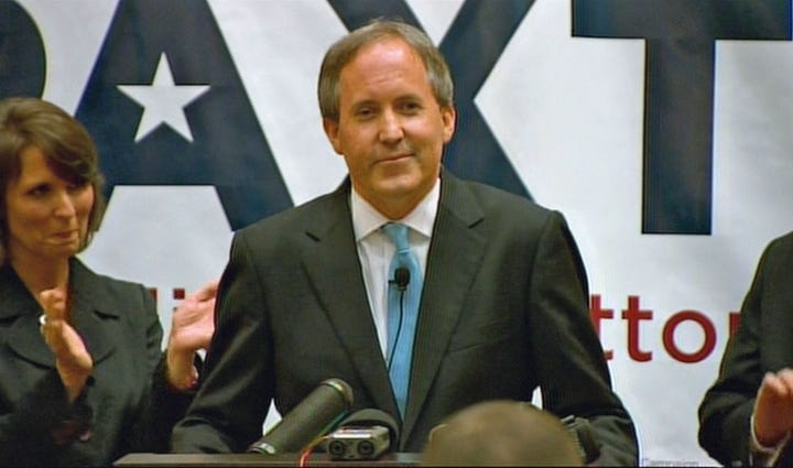 Ken Paxton was elected Texas attorney general, replacing