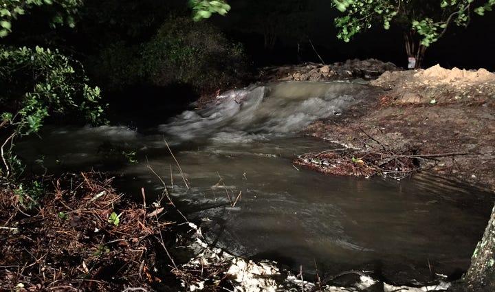 The Beaver Creek Dam on October 5, 2015.