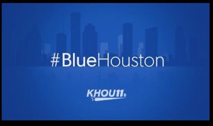 Blue Houston is a grassroots effort launched by one