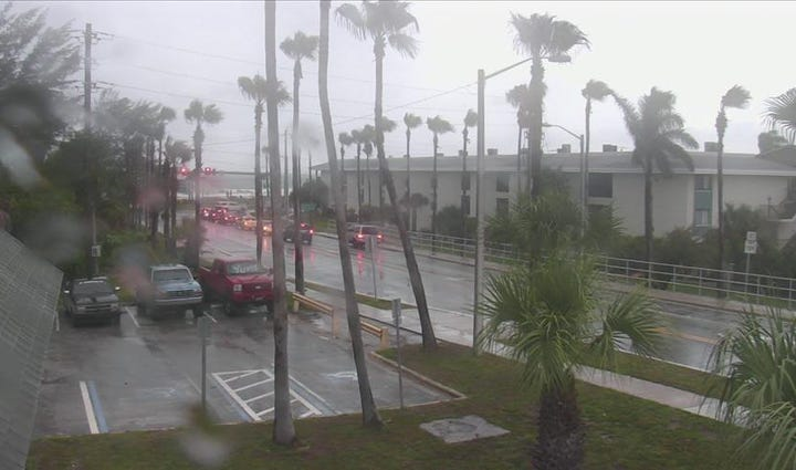 Bradenton had another wet day on Friday.
