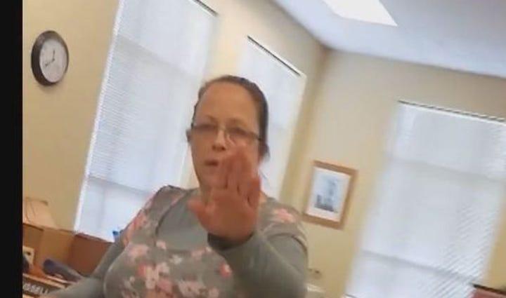 Kim Davis, Rowan County Clerk.