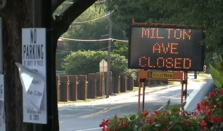 Alpharetta Street Closures Saturday