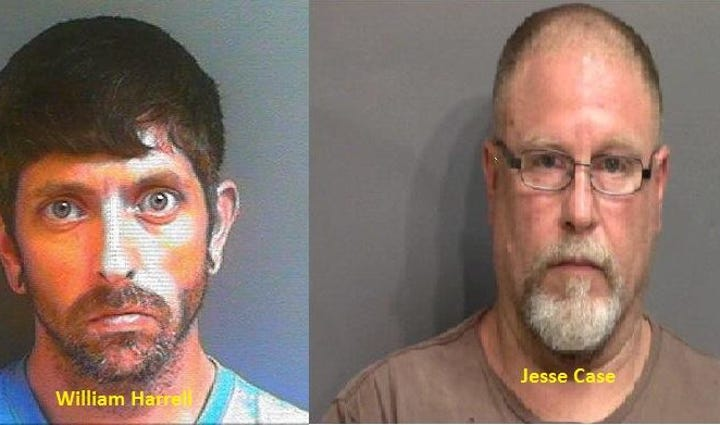William Harrell, 34, and Jesse Edward Case, 49