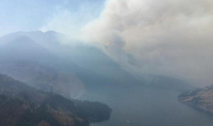 Wolverine Creek fire.