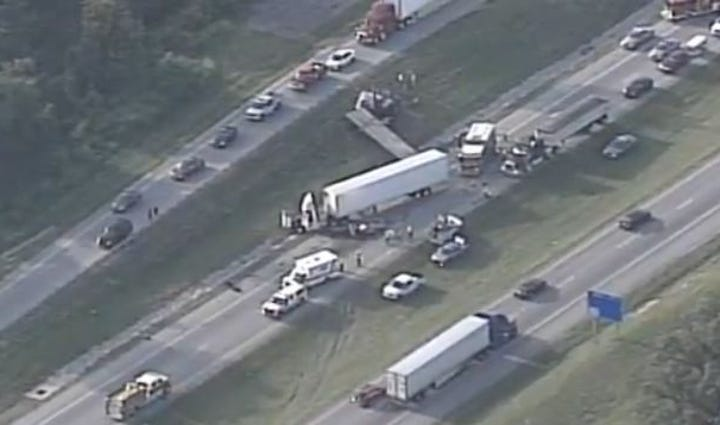 Crash on I-65S in Hardin County on August 3.