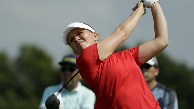 Nanna Koerstz Madsen of Denmark broke the tour record finishing 22-under for the week at the Danielle Downey Credit Union Classic.
