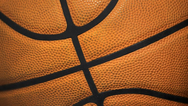 GENERIC PHOTO of a basketball, at Bankers Life Fieldhouse