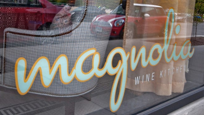 Magnolia Wine Kitchen sits across from the Sculpture Garden in downtown Des Moines.