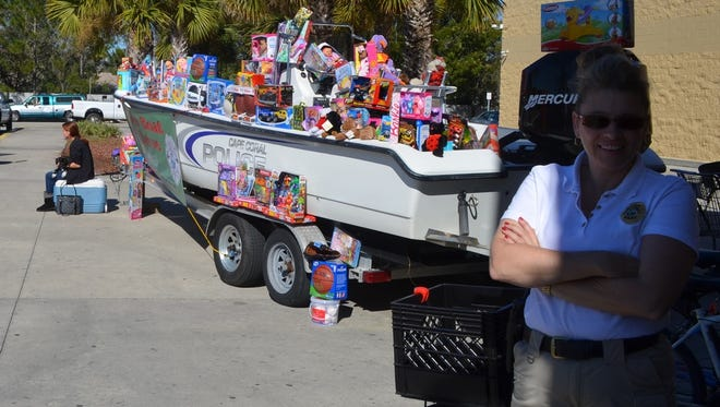 The Cape Coral Police Department will have its annual Fill the Boat toy drive for needy children in Cape Coral. The drive is at the Walmart on Del Prado Boulevard Friday to Sunday.