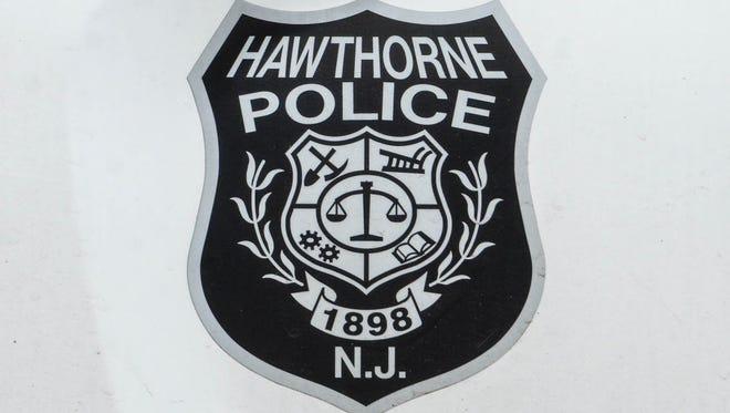 Hawthorne Police Department shield logo.