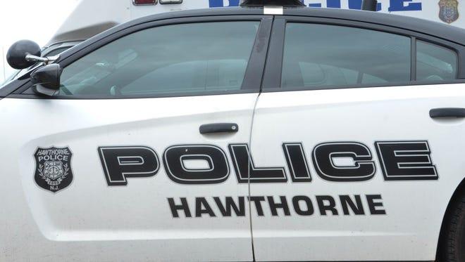 A Hawthorne police car.