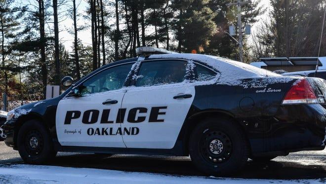 Oakland police car.