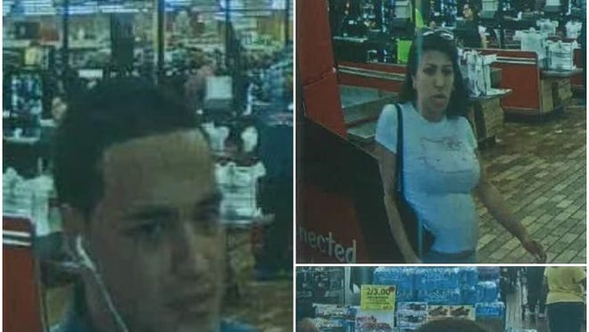 Here are the three suspects in a theft at Woodman's in Menomonee Falls.