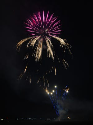 Field of Flight has fireworks on Saturday and Monday.