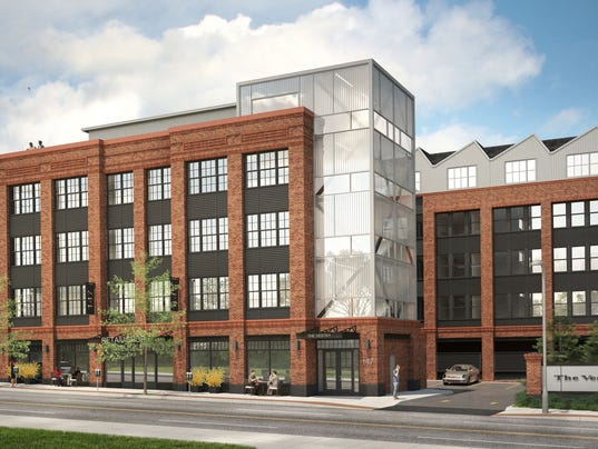 Construction on mixed use project set for summer for One story apartments