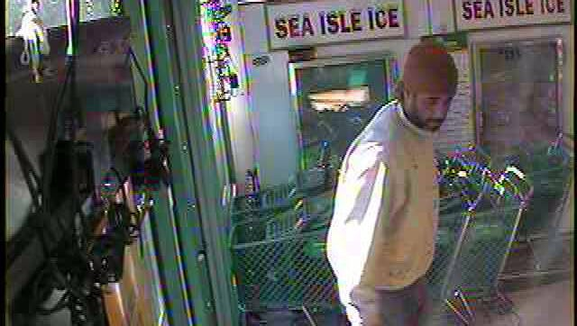 Barnegat police say this man was involved in a hit-and-run crash.